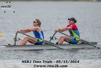 row2k nsr2 time trial